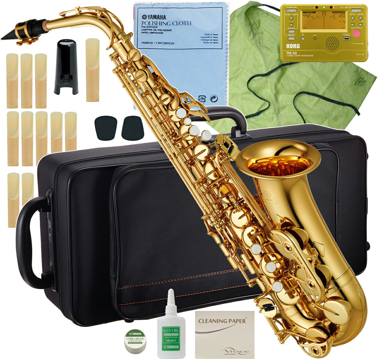 YAMAHA(ヤマハ)YAS-380アルトサックス新品管楽器サックス管体ゴールド初心者管楽器アルトサ