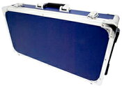 エフェクターケース Lサイズ ブルー セパレートタイプ 箱形 ハードケース 楽器 エレキギター カラー エフェクトボード 青色 【 C80 BLUE 】
