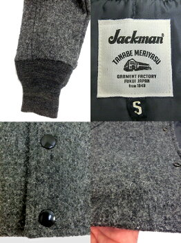 Jackman(����å��ޥ�)AwardJacketJM8525����ɥ��㥱�å�CharcoalMadeinJapan������̵���ۡڤ������б���