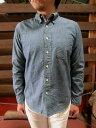 orslow (オアスロウ) 01-8012-84  ボタンダウンシャンブレーシャツ 今季はキレイメ感も シャンブレー素材