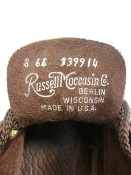 RUSSELLMOCCASIN#S200-27WスポーティングクレーチャッカーEE