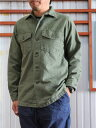 orslow ORSLOW オアスロウ メンズシャツ メンズシャツジャケット 03-8045-216 US ARMY SHIRTS アーミーシャツ シャツジャケット Gr…