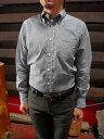 ショッピングINDIVIDUALIZED INDIVIDUALIZED SHIRTS(インディビジュアライズドシャツ)USA製 T8026 ギンガムチェック柄 ボタンダウンシャツ スタンダードフィット ブラック【送料無料】【あす楽対応】