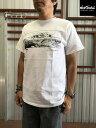 【SALE】WILD THINGS(ワイルドシングス)WT19032H プリントTシャツ Denali デナリ アウトドアTシャツ  White Black