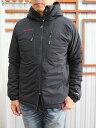 MAMMUT (マムート)【SALE】メンズジャケットインサレーションジャケットストレッチ素材伸縮性がありストレス無黒ブラック