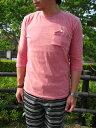 7部袖ポケットTシャツ別注 HEALTH KNIT ヘルスニット TRIBLEND 7部袖ポケットTシャツ