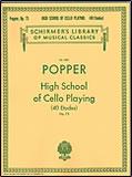 楽譜 ポッパー/チェロ演奏の高等課程40練習曲 Op.73 50262550/チェロ・ソロ/輸入楽譜(T)