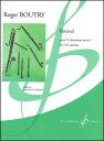 楽譜 ブートリー/フェスティヴァル(【1713200】/GB9419/524-08795/クラリネット4重奏(Bb クラリネットx4)/輸入楽譜(T))
