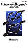 [楽譜] クイーン/ボヘミアン・ラプソディ(SATB: 混声四部合唱)【5000円以上送料無料】(Queen - Bohemian Rhapsody)《輸入楽譜》
