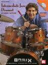 [楽譜] 中級者向けジャズドラムセット教則DVD【DM便送料別】(Intermediate Jazz Drumset (DVD+Chart)《輸入楽譜》