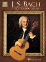 [楽譜] 初級クラシックギターのためのバッハ《輸入ギター楽譜》【DM便送料別】(J.S. Bach for Easy Guitar)《輸入楽譜》