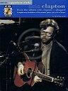 楽譜 エリック クラプトン - アンプラグドから(CD付)《輸入ギター楽譜》【DM便送料無料】(Eric Clapton - From the Album Unplugged)《輸入楽譜》