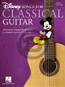 [楽譜] クラシックギターで弾くディズニー・ソングス《輸入ギター楽譜》【メール便送料無料】(Disney Songs for Classical Guitar)《輸入楽譜》