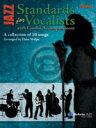 [楽譜] コンボ伴奏でのジャズ・スタンダード集(ドラムセット用)【DM便送料別】(Jazz Standards for Vocalists with Combo Accompaniment)《輸入楽譜》