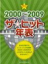[楽譜] やさしいピアノ・ソロ 2000〜2009 ザ☆ヒット年表(ヤサシイピアノソロ*2000カラ2009*ザヒットネンピョウ)