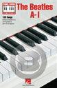 [楽譜] ビートルズ A-I(100曲入り、コード譜集)《輸入ピアノ楽譜》【5,000円以上送料無料】(Beatles, The A-I)《輸入楽譜》