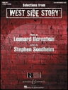 [楽譜] 「ウエスト・サイド・ストーリー」セレクション(ピアノ連弾)《輸入ピアノ楽譜》【DM便送料別】(West Side Story,Selections from )《輸入楽譜》