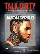 [楽譜] ジェイソン・デルーロ/トーク・ダーティ【DM便送料別】(Jason Derulo/Talk Dirty)《輸入楽譜》