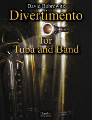 [楽譜] テューバとバンドのディヴェルティメント《輸入吹奏楽譜》【DM便送料無料】(DIVERTIMENTO FOR TUBA AND BAND)《輸入楽譜》