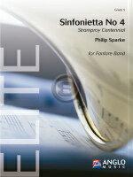 [楽譜] シンフォニエッタ第4番《輸入吹奏楽譜》【DM便送料無料】(SINFONIETTA NO.4)《輸入楽譜》
