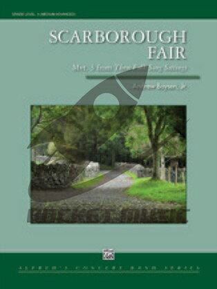 [楽譜] スカボロー・フェア(シンフォニック・ヴァージョン)《輸入吹奏楽譜》【DM便送料無料】(SCARBOROUGH FAIR)《輸入楽譜》