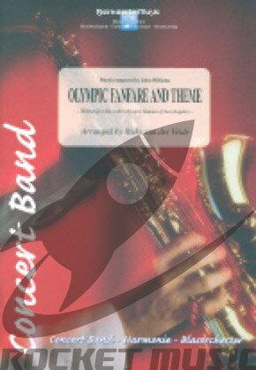 [楽譜] オリンピック・ファンファーレ&テーマ(L.A.オリンピック・テーマ曲)(グレード3)《輸入吹奏楽譜》【DM便送料無料】(OLYMPIC FANFARE AND THEME)《輸入楽譜》