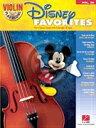 [楽譜] みんな大好き!ディズニー・ソングをヴァイオリンで楽しもう(音源ダウンロード版)【DM便送料別】(Disney Favorites)《輸入楽譜》