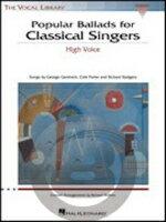 [楽譜] クラシック歌手のための人気のバラード集(高声