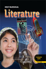 Holt McDougal Literature: Student Edition Grade 7 [Hardcover]【アメリカの中学校国語教科書】