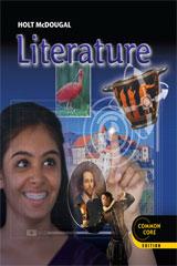 Holt McDougal Literature: Student Edition Grade 9 [Hardcover]【アメリカの中学校・高校国語教科書】