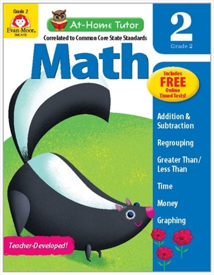 At-Home Tutor Math Gr.2-英検4-5級レベル【All English Text】