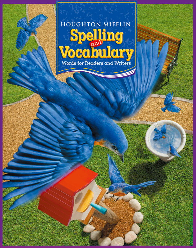 Houghton Mifflin Harcourt Spelling and Vocabulary Student Book Gr. 3【アメリカの小学校3年生語彙教科書】
