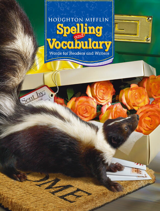 Houghton Mifflin Harcourt Spelling and Vocabulary Student Book Gr. 4【アメリカの小学校4年生語彙教科書】