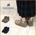 【送料無料】SHEPHERD 【シェパード/シェファード 】シープスキンムートンアンクルブーツ S2