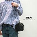 【送料無料】REN【レン】ゴートレザー キャニスターショルダーバッグ KT-15321 レディース STILL スティル ショルダーバッグ ポシェット