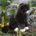 ケーセン社 猫 座り(小) 黒