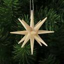 【xmas限定販売】《クリスマスオーナメント》 ナチュラルカラーの星・小