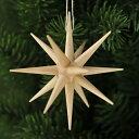 【xmas限定販売】《クリスマスオーナメント》 ナチュラルカラーの星・大