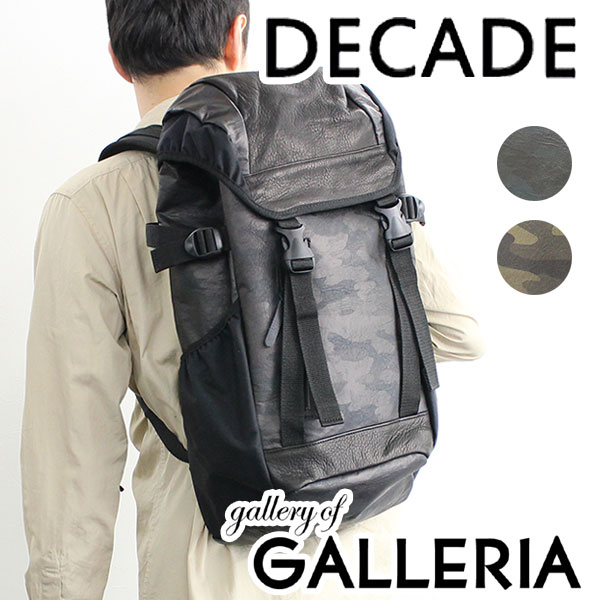 DECADE ディケイド バッグ リュックサック バックパック カモ メンズ DCD-00601A