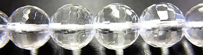水晶 10mm128面カット粒売りの商品画像