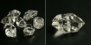 アメリカ ニューヨーク プレミアムグレードリアルハーキマーダイヤ