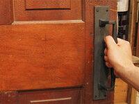 7505-36ヴィクトリアン・ドア・ハンドル★アンティーク・リプロダクト真鍮金具家具・扉用取っ手/引き手★