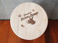 """バロー・スツール・20""""GALLUPはBURROBRANDの「日本正規総代理店」です。※無塗装※送料無料対象外【送料区分2】【05P19Mar13】"""