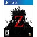 【ネコポス送料無料・即日出荷】PS4 World War Z ワールドウォーZ 北米版 輸入版 090080【ネコポス可】