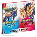 【送料無料 即日出荷】Nintendo Switch ポケットモンスター ソード シールド ダブルパック ポケモン 050166