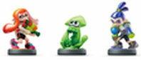 即日発送【ギフトラッピンク可能】 当日発送【日本版】新品 amiibo ガール ボーイ イカ スプラトゥーン 3種セット