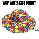 Mr.MEN LITTLE MISS 子ども用 サンハット スマイリング ラッシュ素材のサーフハット