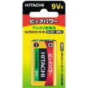 [アルカリ電池]日立アプライアンス(株) 日立 乾電池 6LF22EXS1B 1個【302-9611】