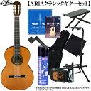 クラシックギター セット ARIA(アリア)「A-50C Classic Guitar/セダー単板トップ:充実10点セット」 【送料無料】【smtb-KD】【RCP】:a50c-10p-as-p2