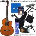 エレクトリック・クラシックギター・セット ARIA(アリア)「A-35CE エレガット:充実10点セット」 【送料無料】【smtb-KD】【RCP】:-a..